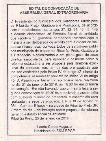 EDITAL ALTERAÇÃO DO ESTATUTO-001