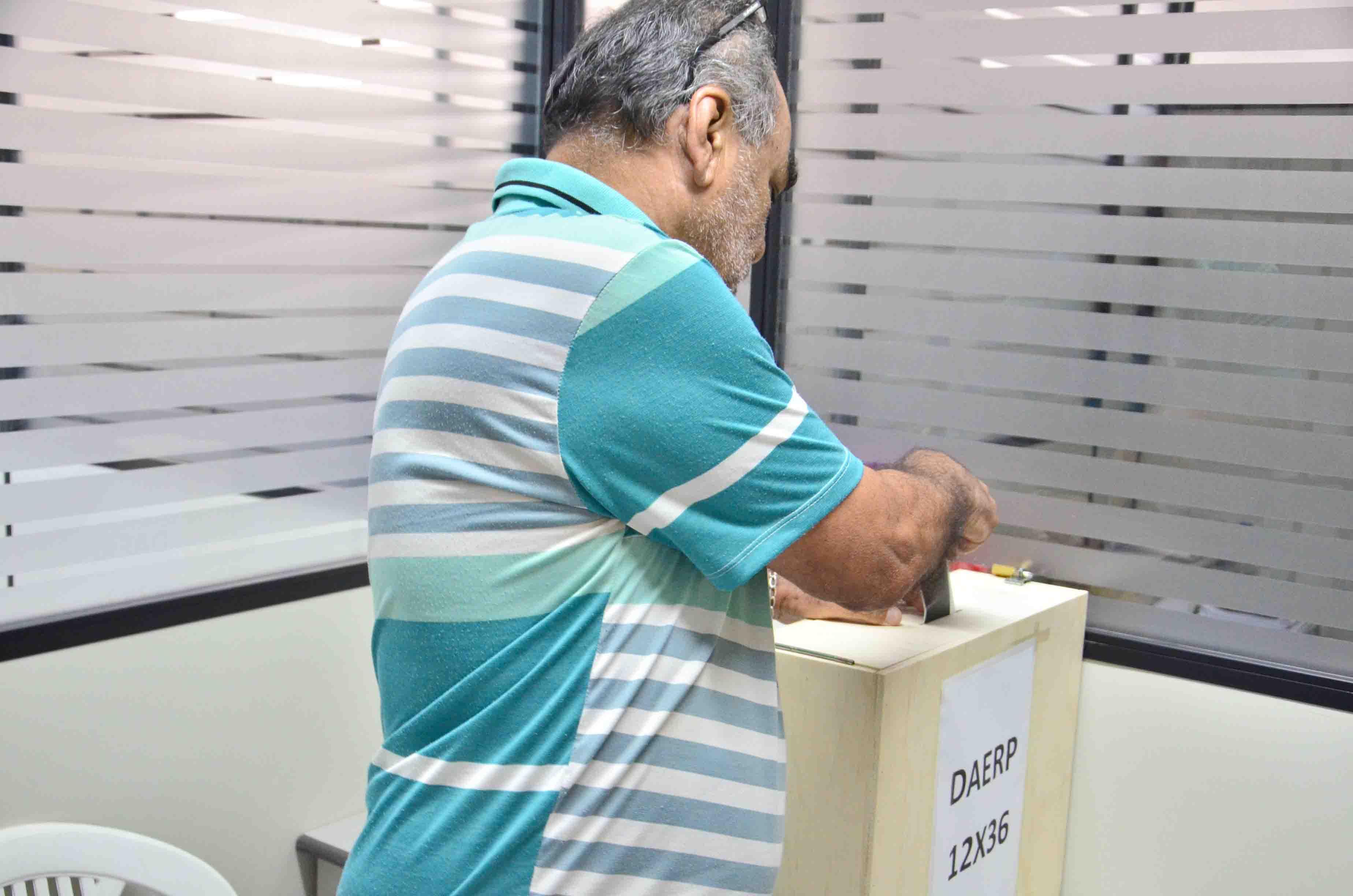 acordo votação